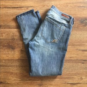 Express Super Skinny Mid Rise Jeans Size 12R
